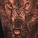 Wolf Tattoo 